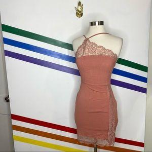 Free people blush asymmetric dress